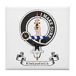 Badge - Kirkpatrick Tile Coaster