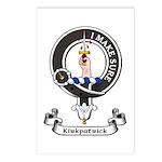 Badge - Kirkpatrick Postcards (Package of 8)