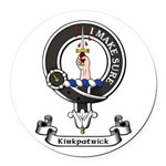 Badge - Kirkpatrick Round Car Magnet