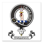 Badge - Kirkpatrick Square Car Magnet 3