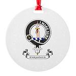 Badge - Kirkpatrick Round Ornament