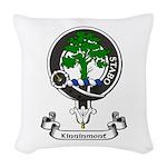 Badge - Kinninmont Woven Throw Pillow