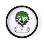 Badge - Kinninmont Wall Clock