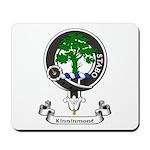 Badge - Kinninmont Mousepad