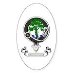Badge - Kinninmont Sticker (Oval 10 pk)