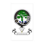 Badge - Kinninmont Sticker (Rectangle 50 pk)