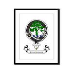 Badge - Kinninmont Framed Panel Print