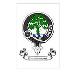 Badge - Kinninmont Postcards (Package of 8)