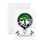 Badge - Kinninmont Greeting Cards (Pk of 10)