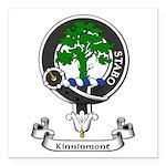 Badge - Kinninmont Square Car Magnet 3