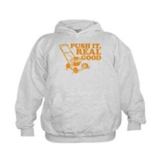 Push It Real Good Gold Hoodie