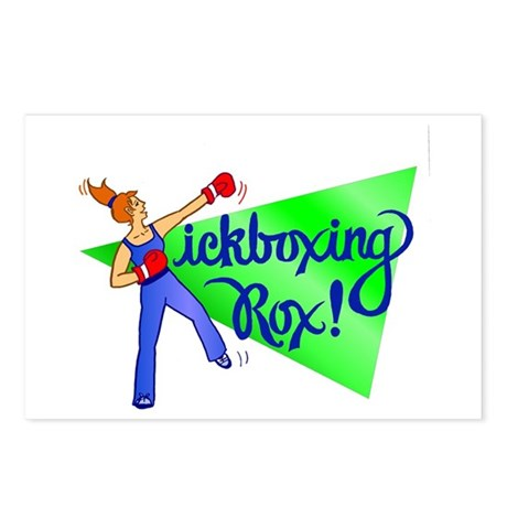 Kickboxing Rox Postcards (Package of 8)
