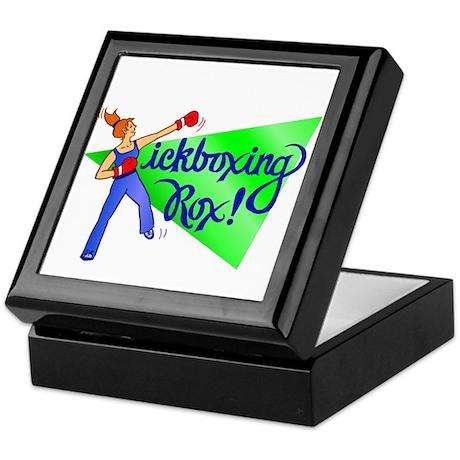 Kickboxing Rox Keepsake Box