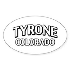 Tyrone Colorado Decal