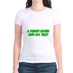 A Penny Saved and All That Jr. Ringer T-Shirt