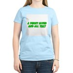 A Penny Saved and All That Women's Pink T-Shirt