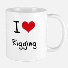 I Love Rigging Mug