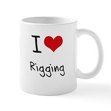 I Love Rigging Small Mugs