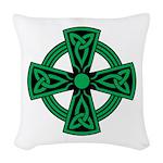 Celtic Cross Woven Throw Pillow