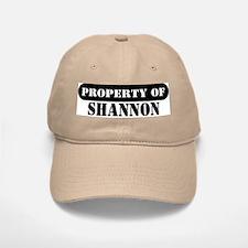 Property of Shannon Baseball Baseball Cap