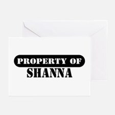 Property of Shanna Greeting Cards (Pk of 10)