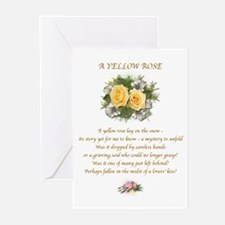 A Yellow Rose Cards #3 (Pk of 10)