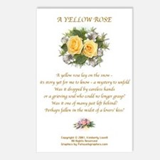 A Yellow Rose Postcards #1 (Package of 8)