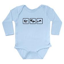 Camping Long Sleeve Infant Bodysuit