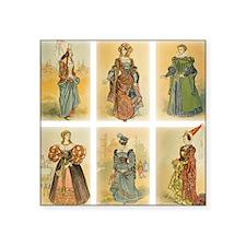 Vintage Paris Fashion (Middle ages) Sticker