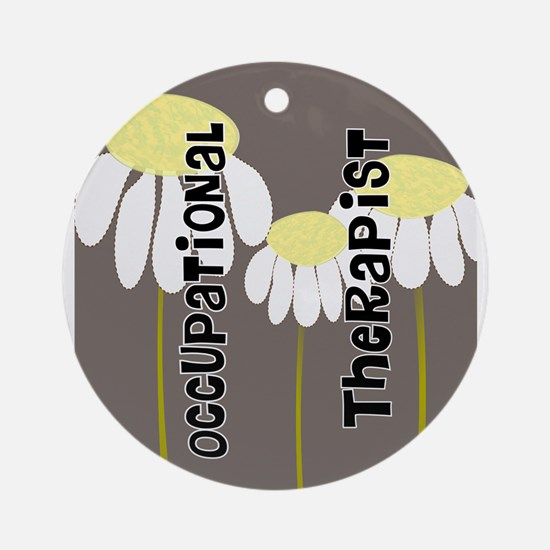 Occupational Therapy Ornament (Round)
