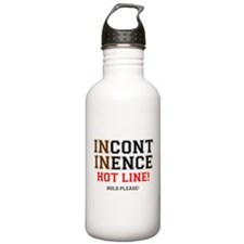 INCONTINENCE HOTLINE - HOLD PLEASE! Z Sports Water