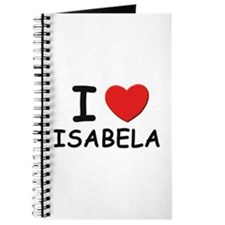 I love Isabela Journal