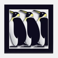 Penguins Tile Coaster