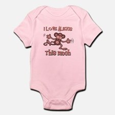 I Love Alexis Infant Bodysuit