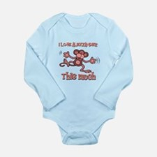 I Love Alexzander Long Sleeve Infant Bodysuit