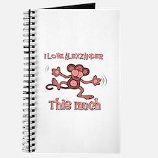 I Love Alexzander Journal