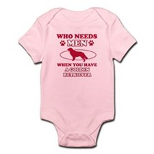 Funny Golden Retriever lover designs Infant Bodysu