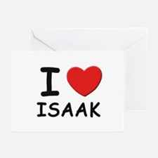 I love Isaak Greeting Cards (Pk of 10)