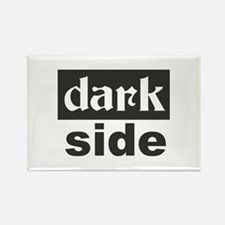 dark side Rectangle Magnet