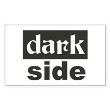 dark side Rectangle Decal