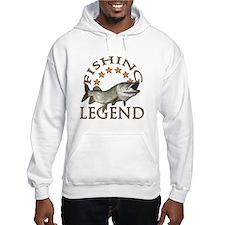 Fishing legend musky Hoodie