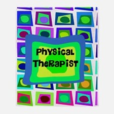 physical therapist 9 Throw Blanket