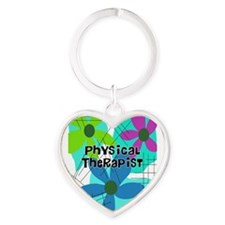 physical therapist 3 Keychains