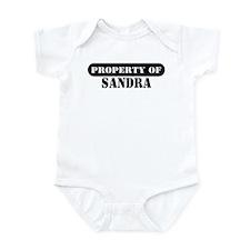 Property of Sandra Infant Bodysuit