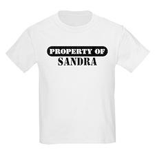 Property of Sandra Kids T-Shirt