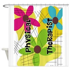 physical therapist 1 Shower Curtain