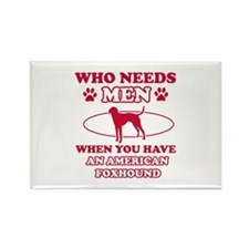 Funny American Foxhound lover designs Rectangle Ma