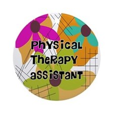 physical therapist asst 2 Ornament (Round)