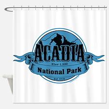 acadia 3 Shower Curtain