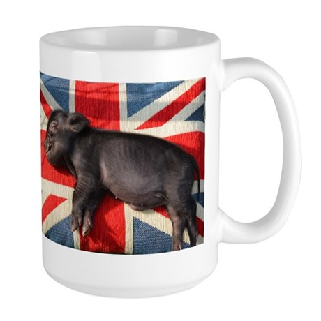 Micro pig chilling Mug